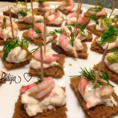 Salata od scampi