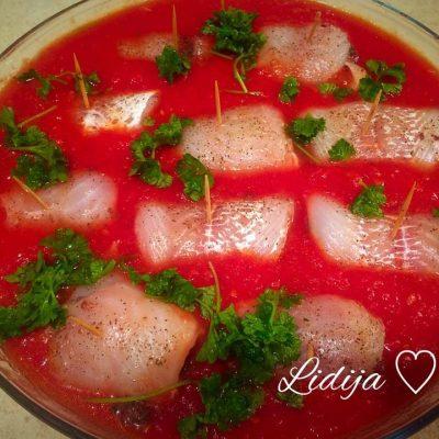 Filovana riba so sos