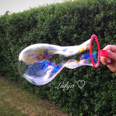 Tecnost za domasni baloni od sjaj