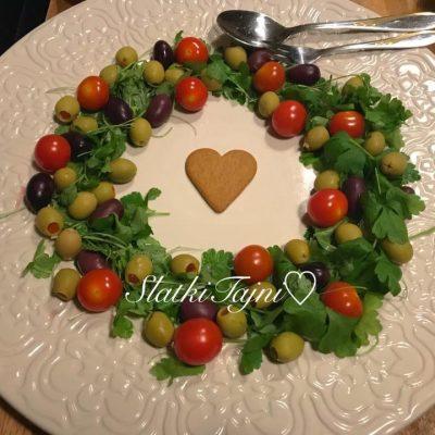 Salata kako boziken venec
