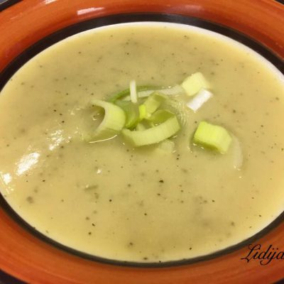 Supa od kompir i praz