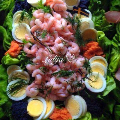 Solena torta so morski plodovi