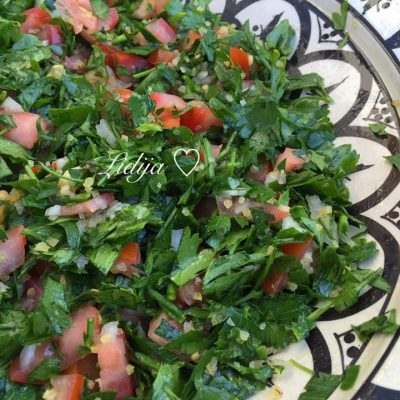 Tabbouleh ( libanska salata so magdonos