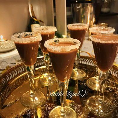 Cokoladen liker so nutella ili Eurokrem i vodka
