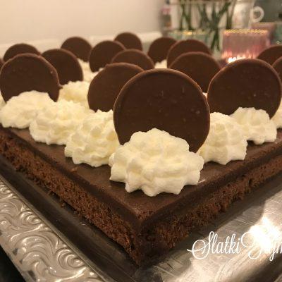 Cokoladna Brownie torta vo pleh