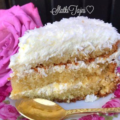 Torta so kokos!!