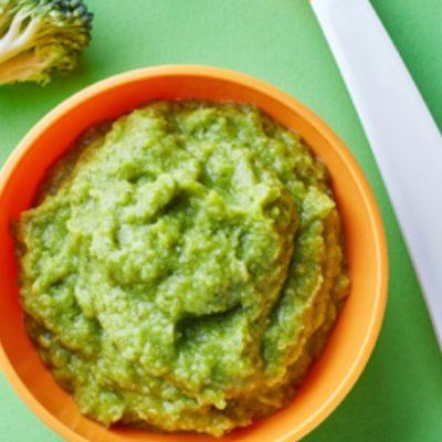 Kaša od brokula. Domašni vkusovi za deca od 4 + meseci..