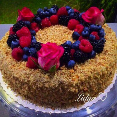 Ruska Medena torta!!