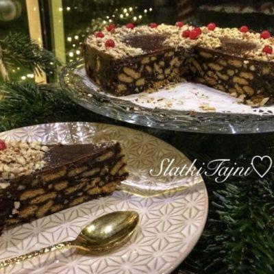 Cokoladna nepecena posna torta!!