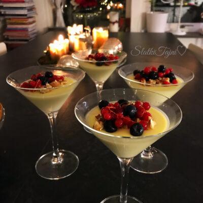 Dulce de leche panakota so karamelizirani soleni/blagi pekan !!