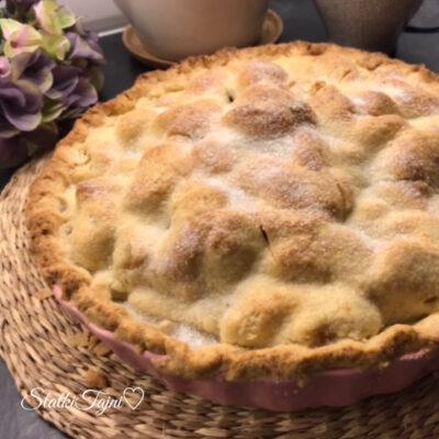 Americki rusticen Apple pie!