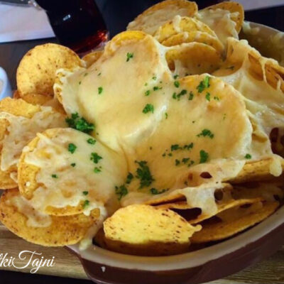 Gratinirani nachos so kaskaval!!