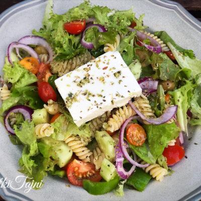 Grcka pasta salata!