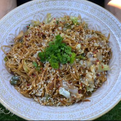 Vegetarijanski kineski nudli/noodles!